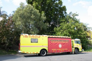Fire Rescue Truck at Young Adventurers